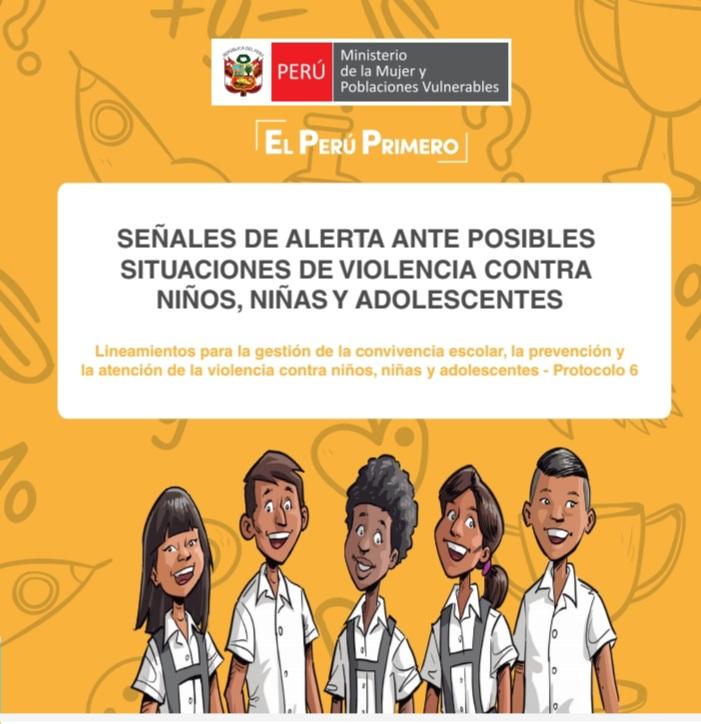 La UGEL  San Martín y el  Ministerio de la Mujer y Poblaciones Vulnerables  a través del programa Nacional AURORA, Centro EmergMujer Tarapoto. comparten está información